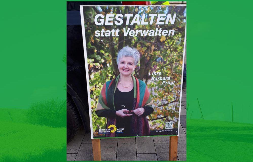 Plakatwände für den ganzen Markt