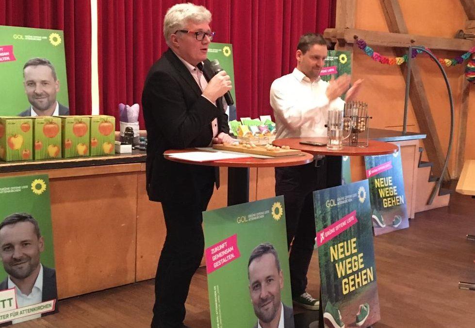 Bingo mit der Grünen Offenen Liste Ein geselliger und dennoch informativer Nachmittag