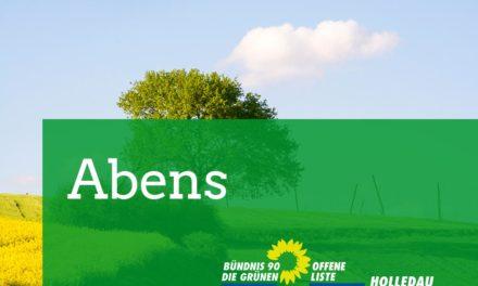 Abens / Oberland zur Kommunalwahl