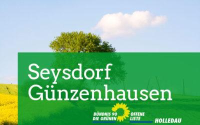 Seysdorf & Günzenhausen zur Kommunalwahl